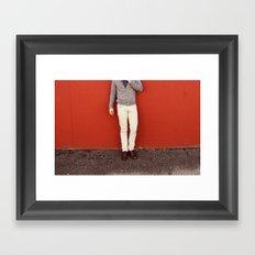 Restless Framed Art Print