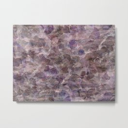 Purple Ivy Metal Print