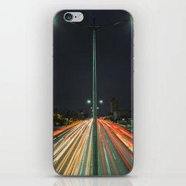 Car Lights iPhone Skin