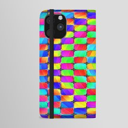 Tumbler #31 Psychedelic Optical Illusion Design by CAP iPhone Wallet Case