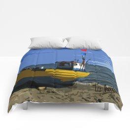 Fishermans boat Comforters