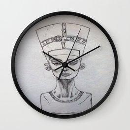 Nerfertiti Wall Clock
