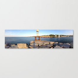 Harbor veiw Canvas Print
