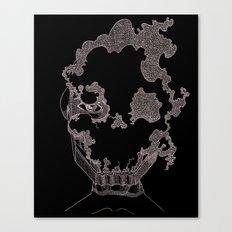 Masque de l'Air (Air Mask) Canvas Print