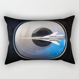 336. Supersonic Aircraft Model Rectangular Pillow
