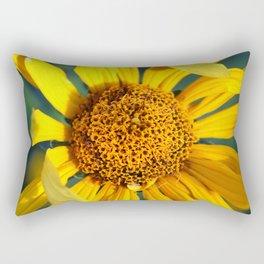 Horicon Marsh Sunflower Rectangular Pillow