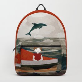When dolphins are around 8 Backpack