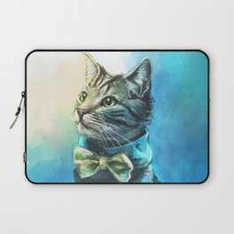 Handsome Cat Laptop Sleeve
