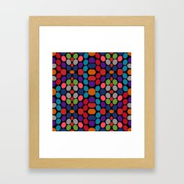 So Much Color Abstract Shapes Multi Framed Art Print