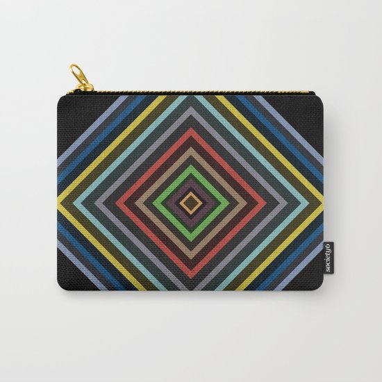 Colorful Geometric Pattern VI Carry-All Pouch