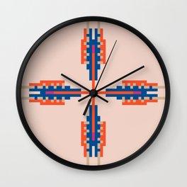 Southwest Vibe Festival Style Wall Clock