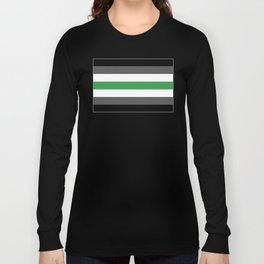 Agender Flag Long Sleeve T-shirt