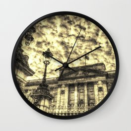 Buckingham Palace Vintage Wall Clock