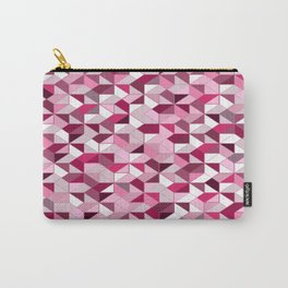 Geometrica (ruby) Carry-All Pouch