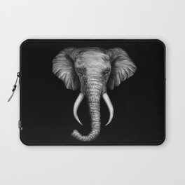 Elephant Head Trophy Laptop Sleeve