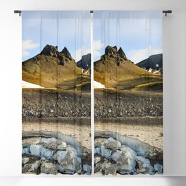 "Extrusion ""Camel"" at the foot of the Avachinsky volcano Blackout Curtain"