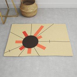 paper sun    straw Rug