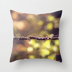 Twisted Vine Throw Pillow