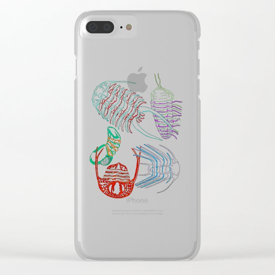 Ordovician Era Trilobites 2 Clear iPhone Case