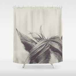 Listen Shower Curtain