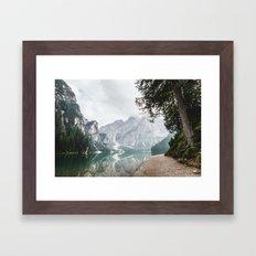 landscape peace Framed Art Print