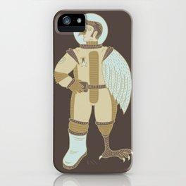 Bird Man Astronaut iPhone Case