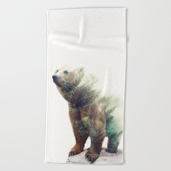 One With Nature V2 #society6 #buyart #decor Beach Towel