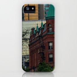 Gooderham through the trees iPhone Case