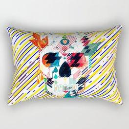 Abstract Skull Rectangular Pillow