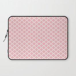 Blush Pink Quatrefoil Laptop Sleeve