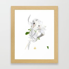 Royal Swan Framed Art Print