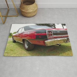 1971 Brazilian Made Only Charger RT Muscle Car Rug