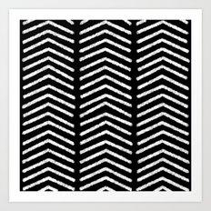 Graphic_Black&White #3 Art Print