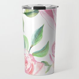 Roses Water Collage Travel Mug