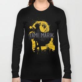 minimal aesthetic yami marik Long Sleeve T-shirt