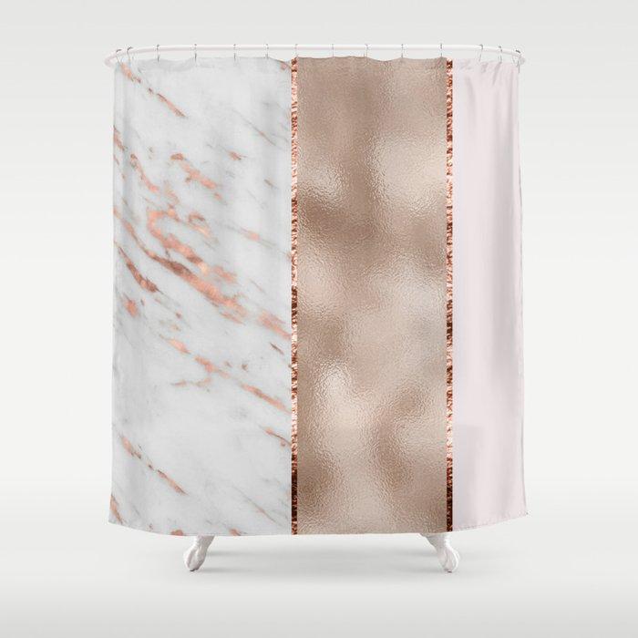 Rose Metallic Striping