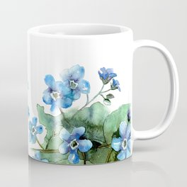 Watercolor forget me nots Coffee Mug