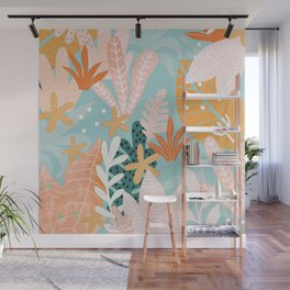 Into the jungle - dusk Wall Mural
