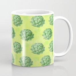 Artichoke pattern Coffee Mug