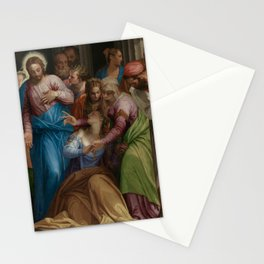 Paolo Veronese - The Conversion of Mary Magdalene Stationery Cards