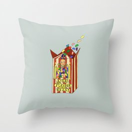 Bertie Botts Beans Throw Pillow