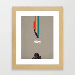 Dive Into My Soul Framed Art Print