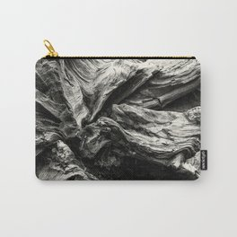 Sequoia Abstract, No. 1 bw Carry-All Pouch