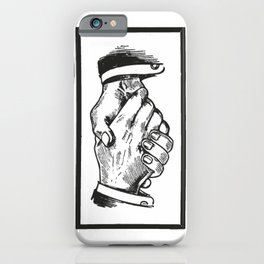 Handshake iPhone Case