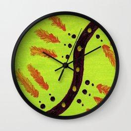 Quills!!! Wall Clock