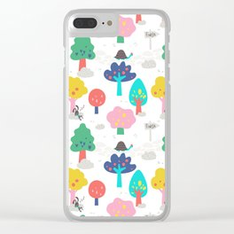 The Tortoise & the Hare in the woods by UnPato Clear iPhone Case