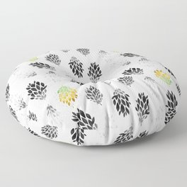 -Only few are gold- on white Floor Pillow