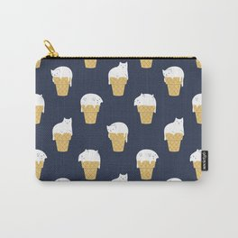 Meowlting Pattern Carry-All Pouch