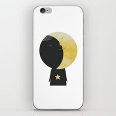 The day I kissed the Moon iPhone & iPod Skin