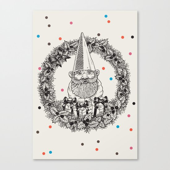 Christmas is coming! Canvas Print